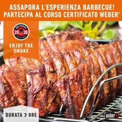 Corso Barbecue ENJOY THE SMOKE by Weber 23 Maggio 2020