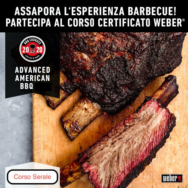 Corso Barbecue AMERICAN BBQ ADVANCED 25 Maggio 2020