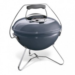 Barbecue Weber a Carbone Smokey Joe Premium 37 cm Slate Blue Cod. 1126804