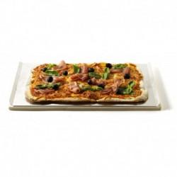 Pietra Refrattaria Rettangolare per Pizza Weber Cod. 17059