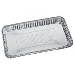 Vaschette in Alluminio per Barbecue Weber a Carbone 47 e 57 cm Cod. 6416
