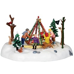 Holiday Merry-Go-Round B/O Cod. 14340