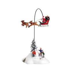 Santa Claus Is Coming To Town con Alimentatore 4.5V Cod. 54353