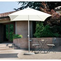 Ombrellone Quadrato 2,2 x 2,2 mt In Alluminio Con Palo Centrale