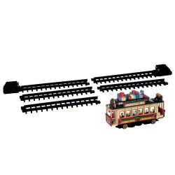 Santa'S Cable Car B/O (4.5V) Cod. 54960