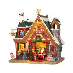Santa's Cabin With 4.5V Adaptor Cod. 35554