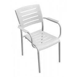 Sedia Cecina In Alluminio