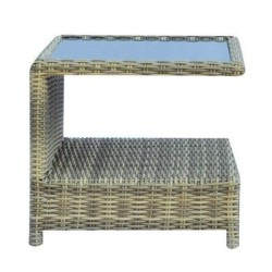 Tavolino Trinidad 49 x 49 x 43 cm In Wicker