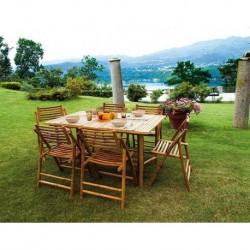 Tavolo 150 x 90 cm In Bambù