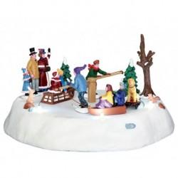 Victorian Ice Merry Go Round B/O 4.5V Cod. 44773