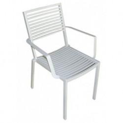 Sedia In Alluminio Con Braccioli