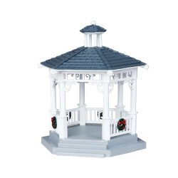 Plastic Gazebo With Decorations Cod. 04160