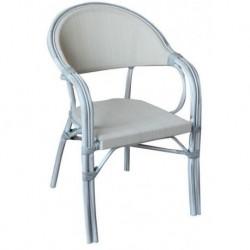 Sedia Impilabile In Alluminio E Textilene