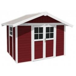 Casetta da Giardino in Resina DECO 7 RED Grosfillex
