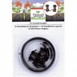 Stocker Irrigatori a goccia (10 pz) con tubo per irrigazione
