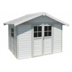 Casetta da Giardino in Resina DECO 7 WHITE Grosfillex