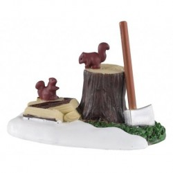 Axe And Logs Cod. 04730