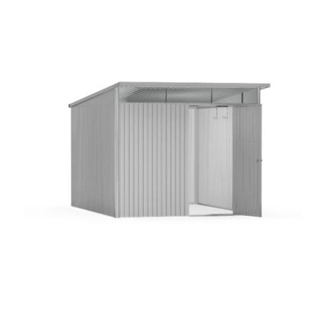 Casetta da Giardino in Metallo AVANTGARDE L con Porta a Due Battenti Biohort