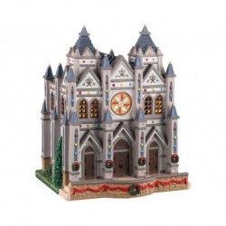 Christmas At The Cathedral B/O Led Cod. 05661