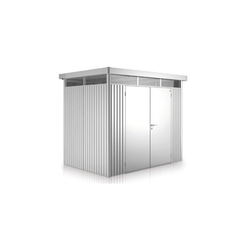 Casette Da Giardino In Metallo.Casetta Da Giardino In Metallo Highline 3 Con Porta A Due Battenti Biohort