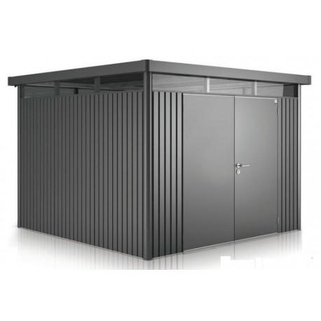 Casetta da Giardino in Metallo HIGHLINE 4 Biohort con Porta a Due Battenti