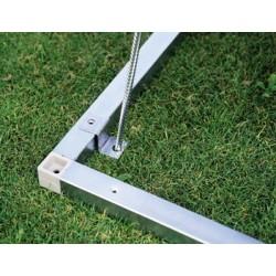 Base in Alluminio per Casetta in Metallo AVANTGARDE Biohort