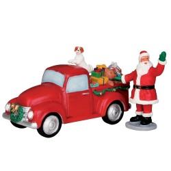 Santa's Truck Set of 2 Cod. 53219
