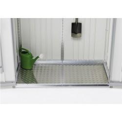 Pavimento in Alluminio per Armadio per Attrezzi in Metallo Biohort