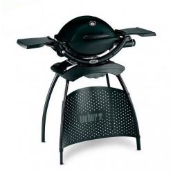 Barbecue Weber a Gas Q 1200 (con Attacco per Cartuccia) Black + Stand Cod. 51010353
