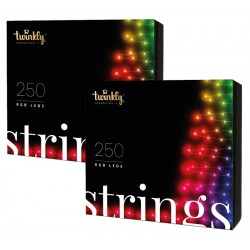 Twinkly STRINGS Luci di Natale Smart 500 Led RGB II Generazione