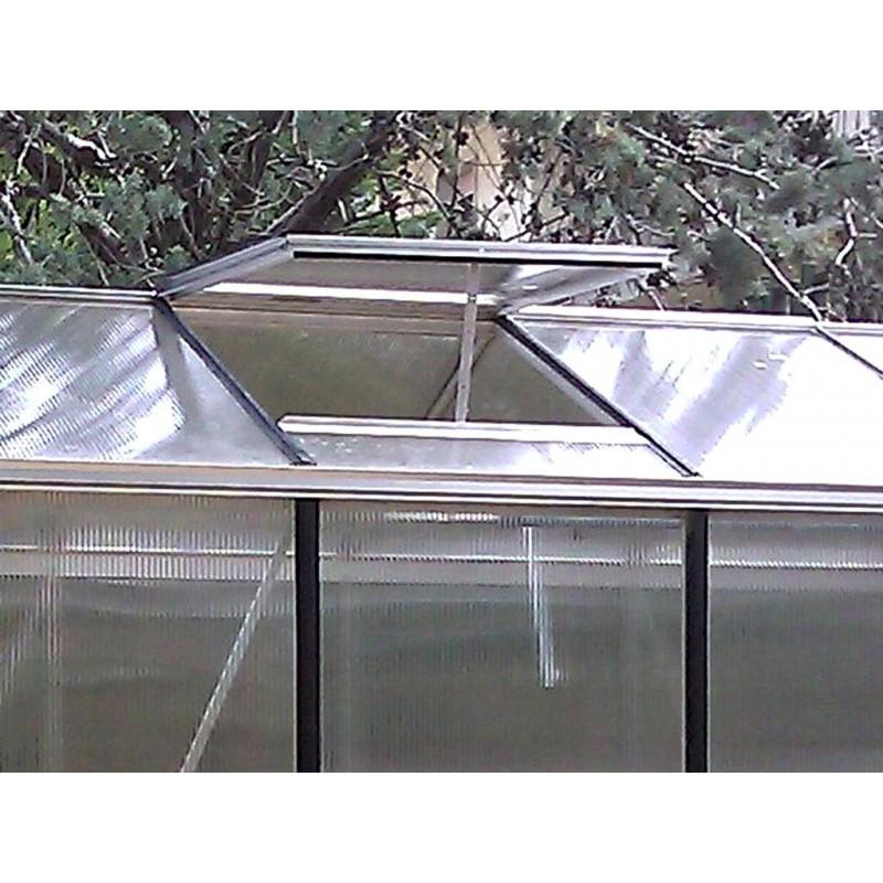 Finestra di tetto per serra professionale for Finestra nel tetto