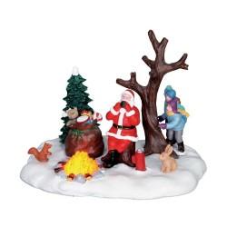 Santa Takes A Break B/O (4.5V) Cod. 64084