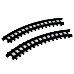 Curved Track For Christmas Express Set of 2 Cod. 34686