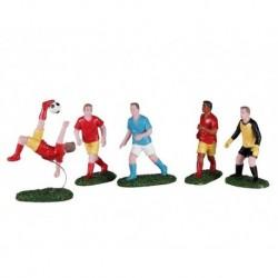 Playing Soccer Set of 5 Cod. 02961 PRODOTTO CON DIFETTI
