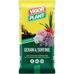 Terriccio Gerani & Surfinie 25 litri Vigorplant