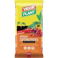 Terriccio Ortaggi Supernutriente 45 litri Vigorplant