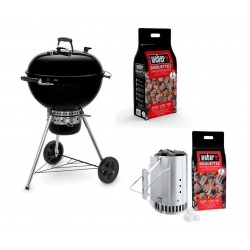 Barbecue Weber a Carbone Master-Touch 57 cm GBS E-5750 Black Cod. 14701053 Premium Pack