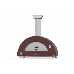 AlfaForni Forno per Pizza BRIO HYBRID colore Rosso a Gas Metano