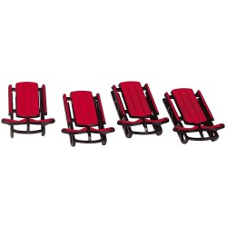 Sled Set of 4 Cod. 34948
