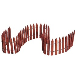 Wired Wooden Fence Cod. 84813