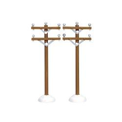 Telephone Poles Set Of 2 Cod. 64461