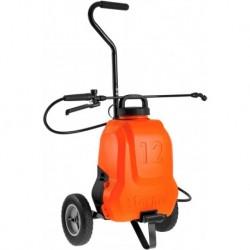 Stocker Pompa a zaino elettrica 12 L li-ion con trolley