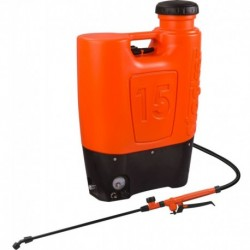 Stocker Pompa a zaino elettrica 15 L
