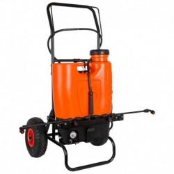 Stocker Pompa a zaino elettrica 15 L li-ion Con trolley