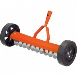 Stocker Rastrello aeratore con ruote, 40 cm