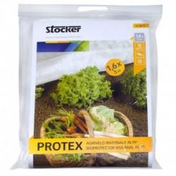 Stocker Protex tessuto non tessuto invernale bianco 1,60 x 5 m 30 gr