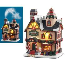 Christmas Supply Loft Effetto Fumo con Alimentatore 4.5V Cod. 15741