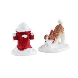 Snow Hydrant Set Of 2 Cod. 14860