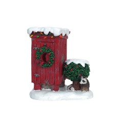 Christmas Outhouse Cod. 64481