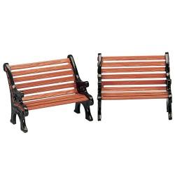 Park Bench Set Of 2 Cod. 34895